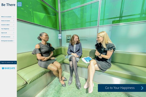 Barclays 360 recruitment experience