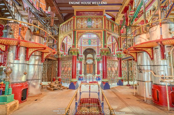 Crossness virtual 360 guided tour